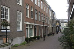 Straßen in Amsterdam Stockfotos