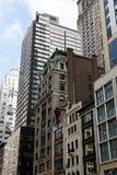 Straßen-Ansicht New- Yorkmanhattan stockfotografie