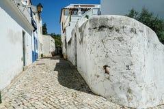 Straßen-Ansichten von Albufeira Portugal Lizenzfreie Stockfotografie