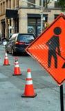 Straßen-Arbeit Stockbild