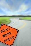 Straßen-Arbeits-voran Konzept Lizenzfreies Stockfoto