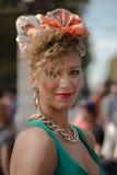 Straßen-Art während Milan Fashion Weeks für Frühling/Sommer 2014 Lizenzfreie Stockbilder