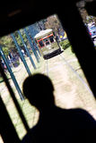 Straßen-Auto-Treiber New- Orleansstr.-Charles Stockbilder