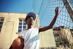 Straßen-Basketball Lizenzfreie Stockfotos