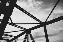 Straßen-Brücke in Lesko Stockbilder