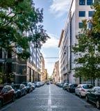 Straßen in Budapest, Ungarn stockfotografie