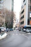 Straßen in Bukarest Lizenzfreie Stockbilder