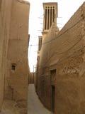 Straßen der alten Stadt von Yazd, der Iran Stockfotos
