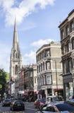 Straßen der London- - Kensington-Kirchen-Straße lizenzfreie stockbilder