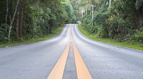 Straßen in der Natur Lizenzfreie Stockfotografie