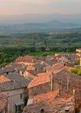Straßen der provencal Stadt Lizenzfreie Stockbilder