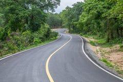 Straßen in der wilden Beschreibung Stockbild