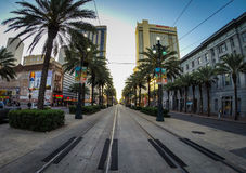 Straßen des französischen Viertels, New Orleans lizenzfreie stockfotografie