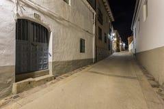 Straßen eines Dorfs Lizenzfreies Stockbild