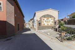 Straßen eines Dorfs Lizenzfreie Stockfotografie