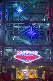 Straßen-Erfahrung Las Vegass, Fremont Stockfotos