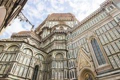 Straßen in Florenz in Toskana Stockfotografie