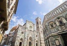 Straßen in Florenz in Toskana Stockfotos