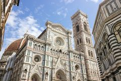 Straßen in Florenz in Toskana Lizenzfreie Stockfotos