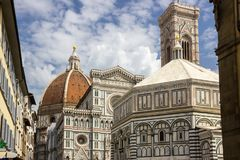 Straßen in Florenz in Toskana Stockfoto