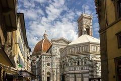 Straßen in Florenz in Toskana Stockbilder