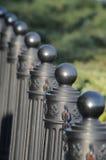 Straßen-Geländer lizenzfreie stockfotos