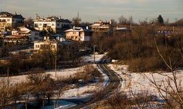 Straßen-Haus Stockfoto