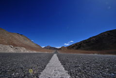Straßen im ladakh Stockfotos