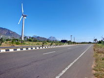 Straßen in Indien Stockfotografie