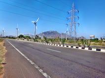 Straßen in Indien Stockbilder