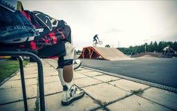 Straßen-Jugend-Hobbys Lizenzfreies Stockbild