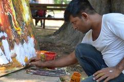 Straßen-Künstler Lizenzfreie Stockfotos