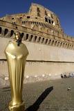Straßen-Künstler, Castel Sant'Angelo, Rom, Italien Lizenzfreie Stockfotografie