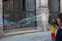 Straßen-Künstler des Porto, Portugal lizenzfreies stockbild