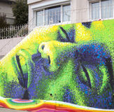 Straßen-Kunst in Chile Lizenzfreie Stockfotografie