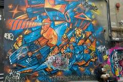 Straßen-Kunst in den Wegen Melbourne Lizenzfreies Stockbild
