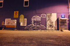 Straßen-Kunst in Georgetown Stockbild