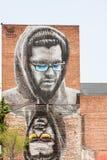 Straßen-Kunst in Hudson Valley Stockbilder