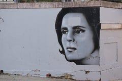 Straßen-Kunst in Lissabon lizenzfreie stockfotografie