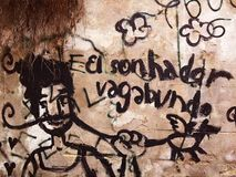 Straßen-Kunst in Lissabon Stockfoto