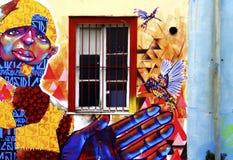 Straßen-Kunst in Südamerika Stockfotografie