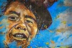 Straßen-Kunst, Valparaiso, Chile Stockbilder