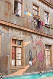 Straßen-Kunst von Valparaiso Lizenzfreie Stockfotos
