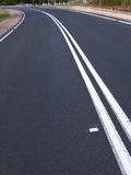 Straßen-Kurve stockfotos