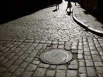 Straßen-Leben Stockbild