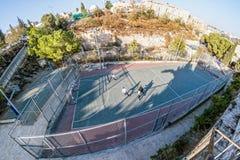 Straßen-Leben auf den Straßen von Jerusalem lizenzfreie stockfotografie
