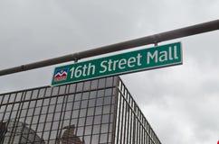 16. Straßen-Mall Lizenzfreies Stockfoto