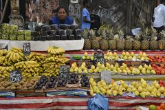 Straßen-Markt Stockfotos