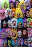 Straßen-Masken Lizenzfreie Stockfotografie