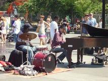 Straßen-Musiker Stockfoto